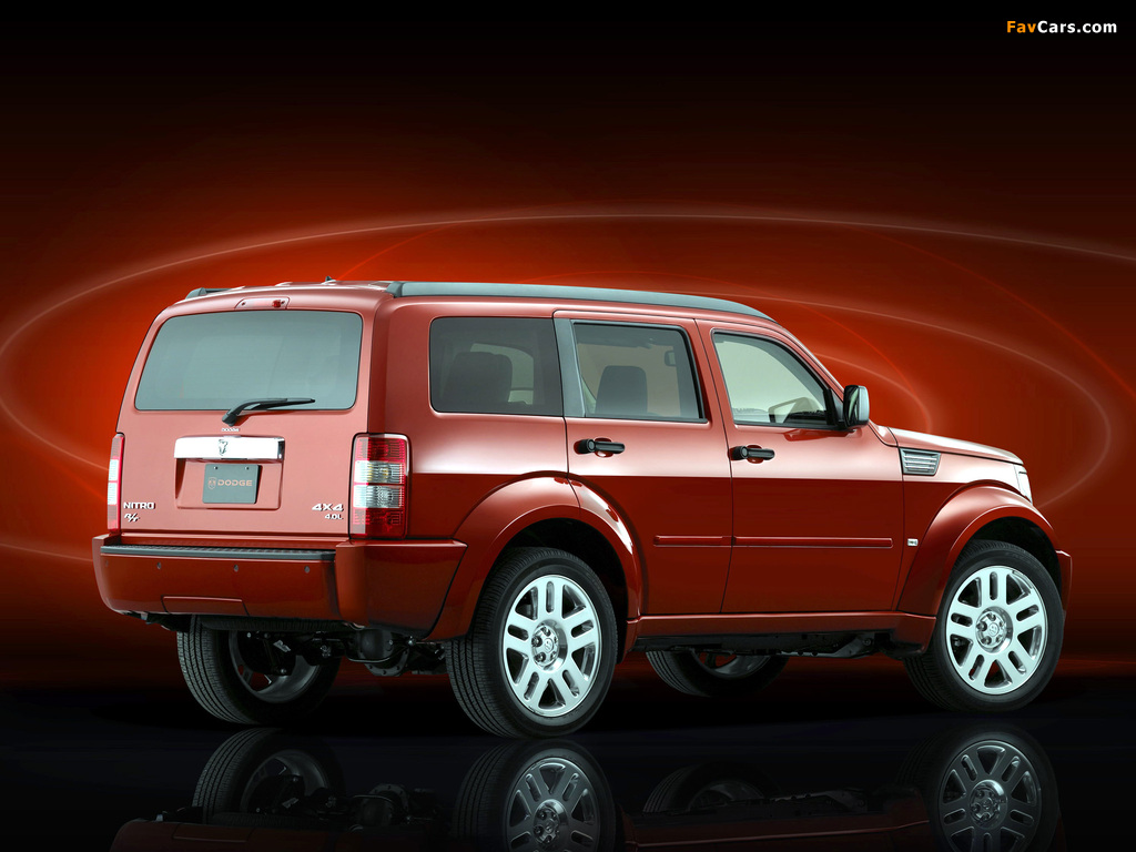 Dodge Nitro R/T 2006–09 images (1024 x 768)