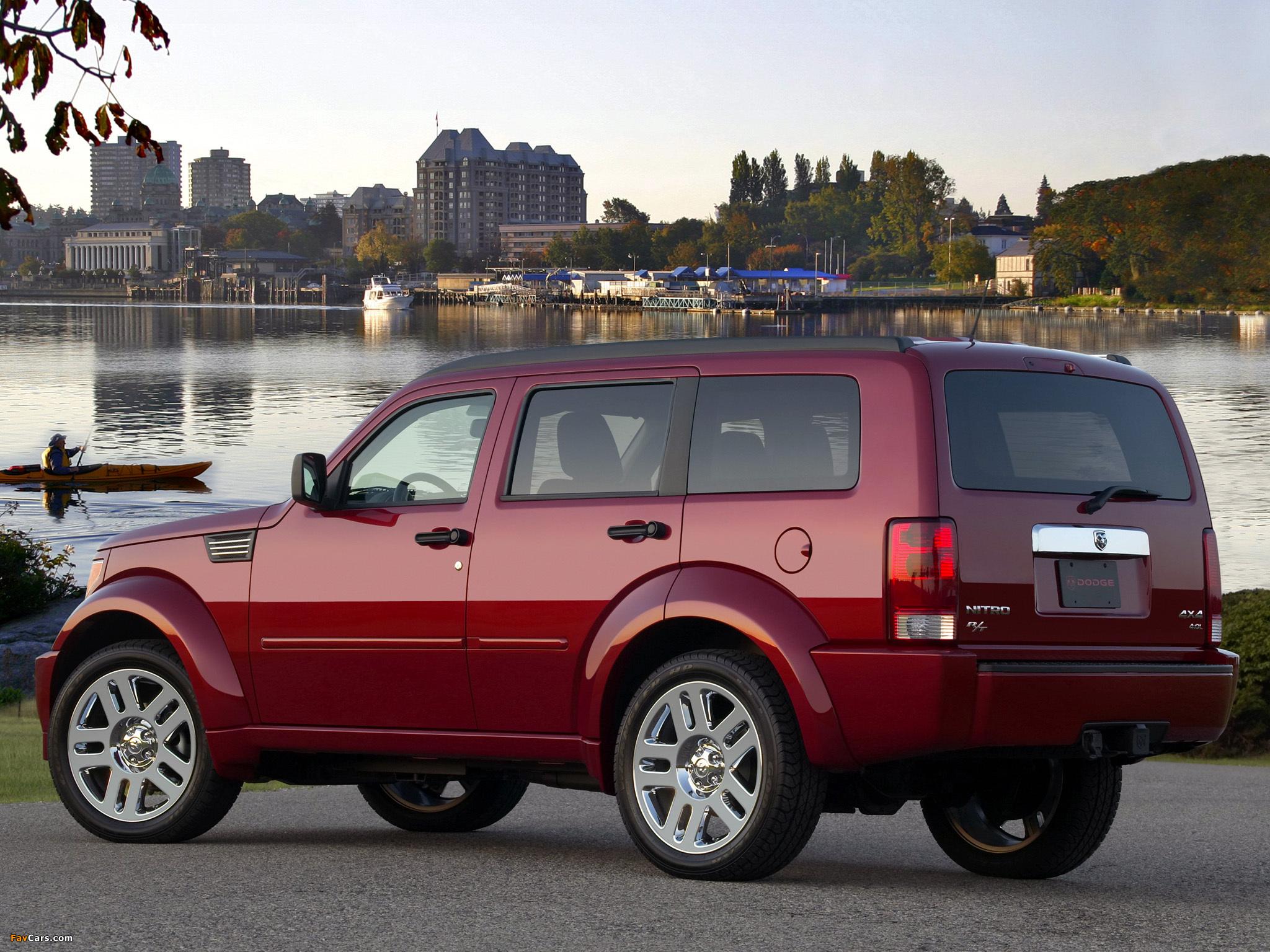 Dodge Nitro R/T 2006–09 pictures (2048 x 1536)