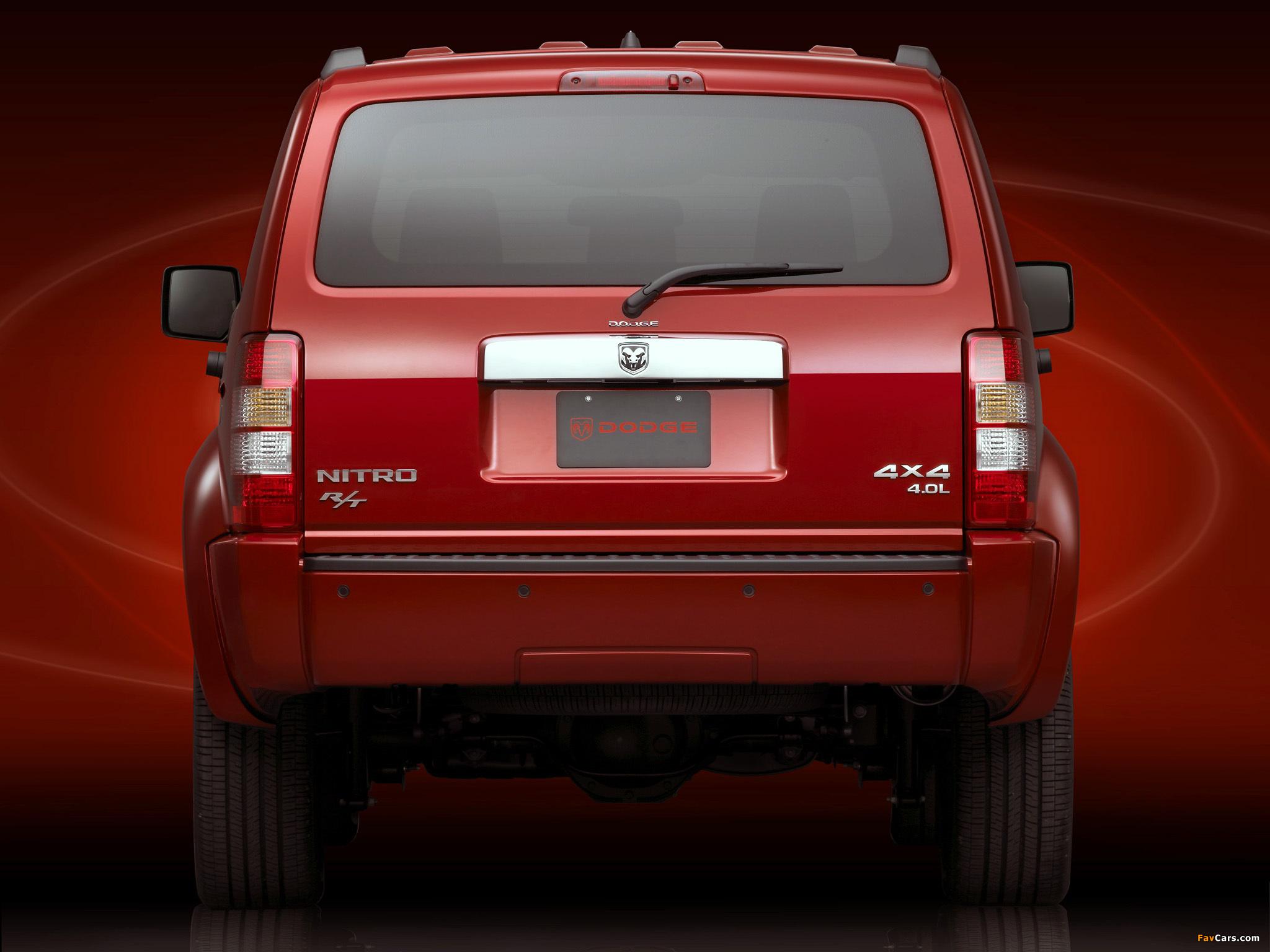 Dodge Nitro R/T 2006–09 wallpapers (2048 x 1536)