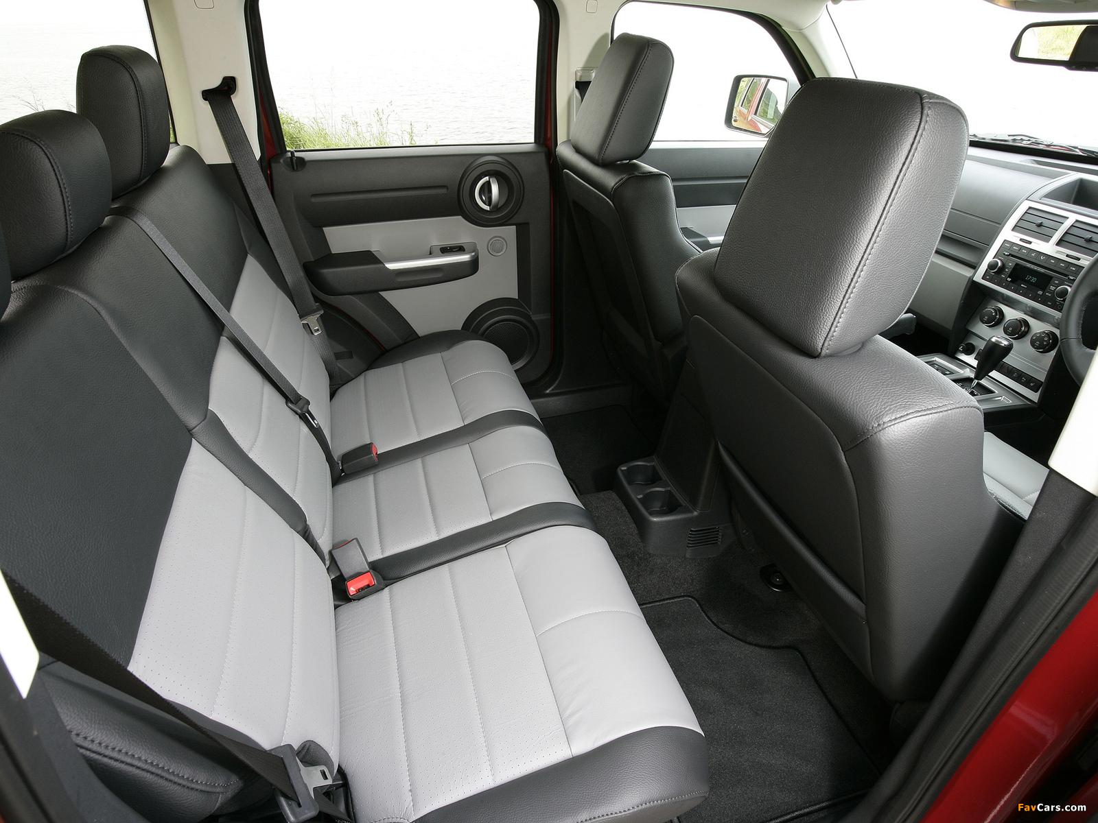 Dodge Nitro UK-spec 2007–09 images (1600 x 1200)