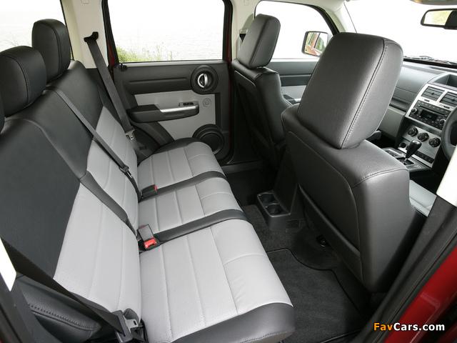 Dodge Nitro UK-spec 2007–09 images (640 x 480)