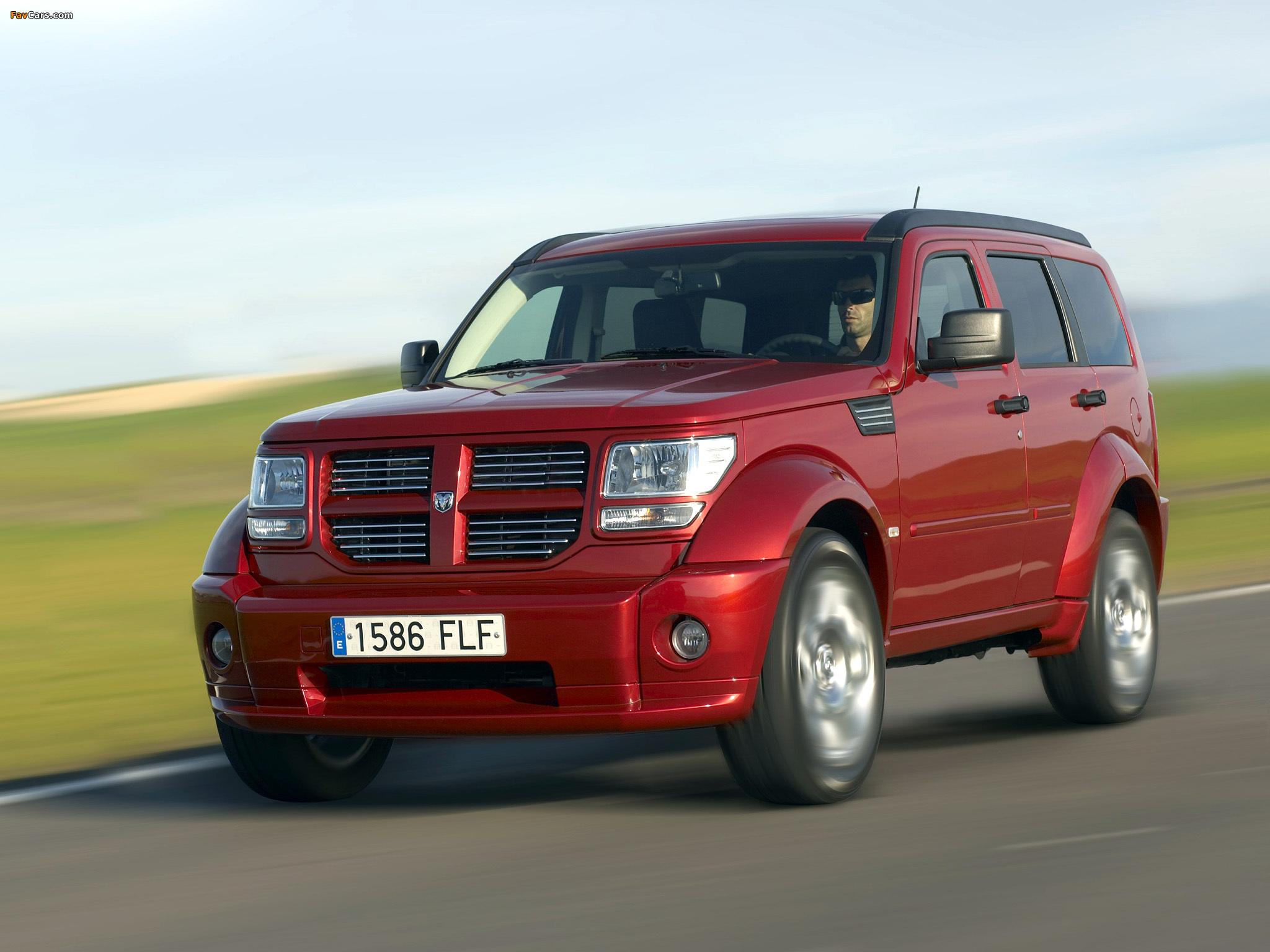 Images of Dodge Nitro EU-spec 2006–10 (2048 x 1536)