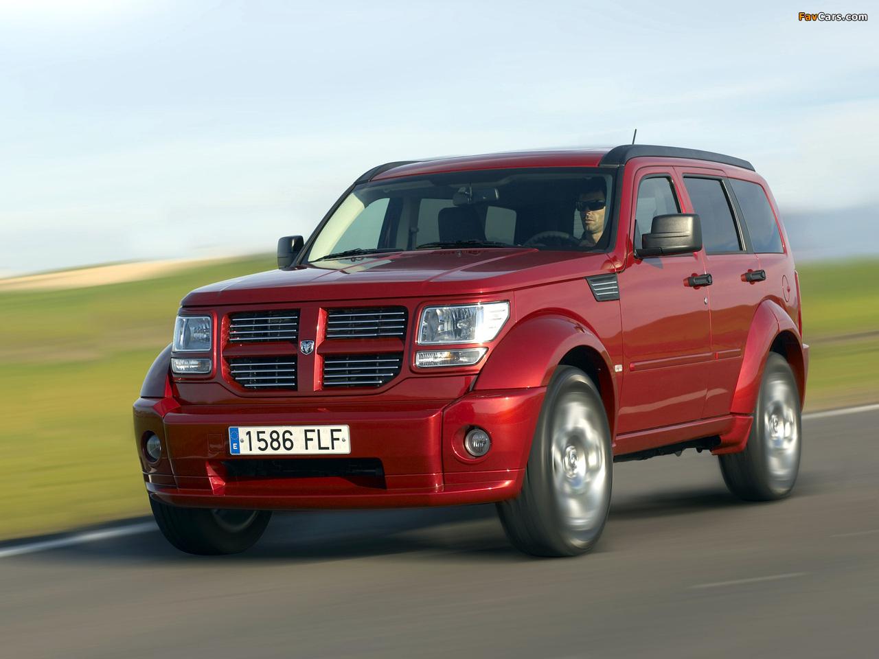 Images of Dodge Nitro EU-spec 2006–10 (1280 x 960)