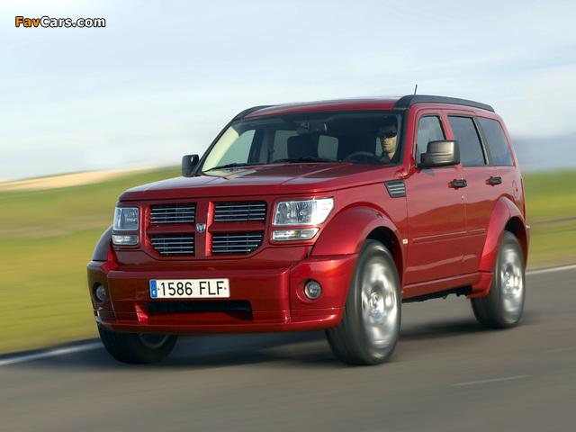 Images of Dodge Nitro EU-spec 2006–10 (640 x 480)