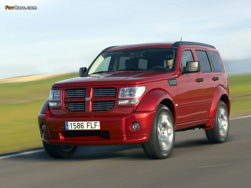 Images of Dodge Nitro EU-spec 2006–10 (800 x 600)