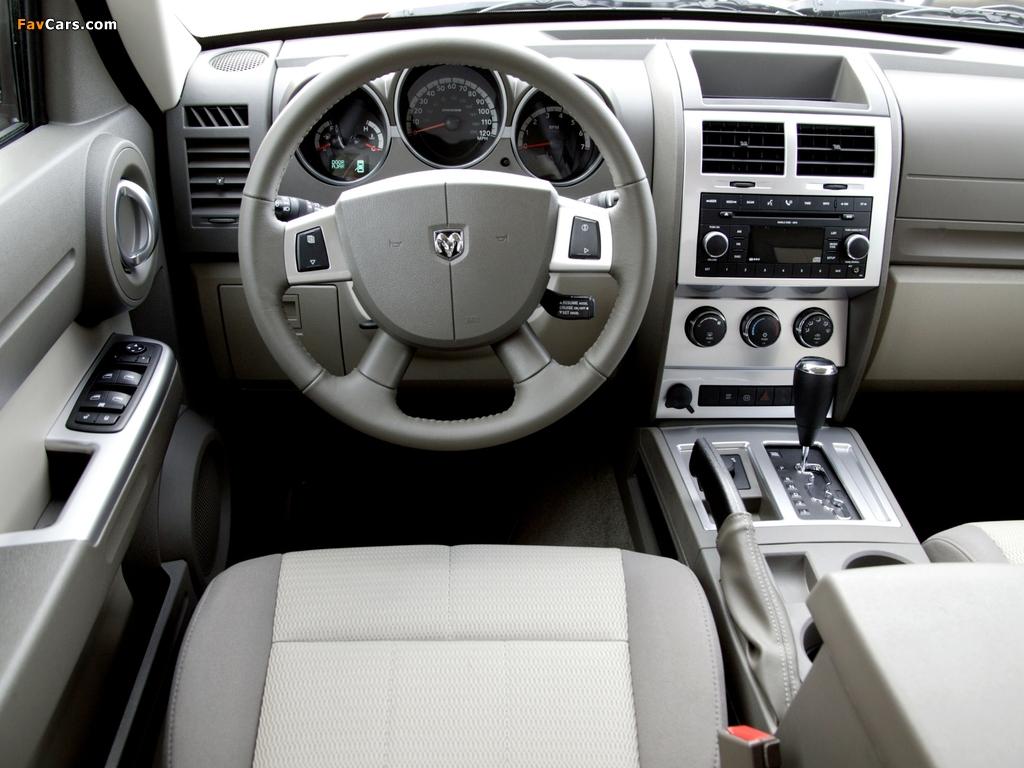 Photos of Dodge Nitro EU-spec 2006–10 (1024 x 768)