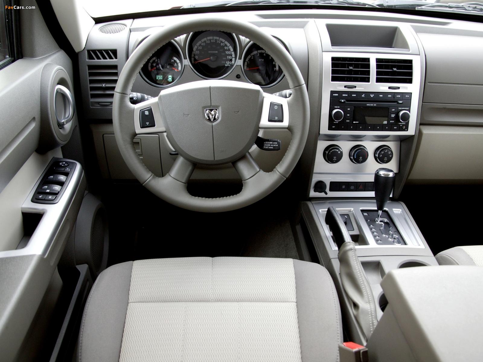 Photos of Dodge Nitro EU-spec 2006–10 (1600 x 1200)