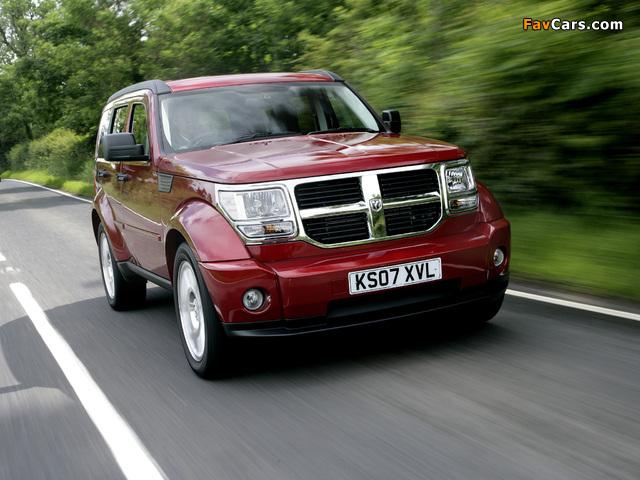 Photos of Dodge Nitro UK-spec 2007–09 (640 x 480)