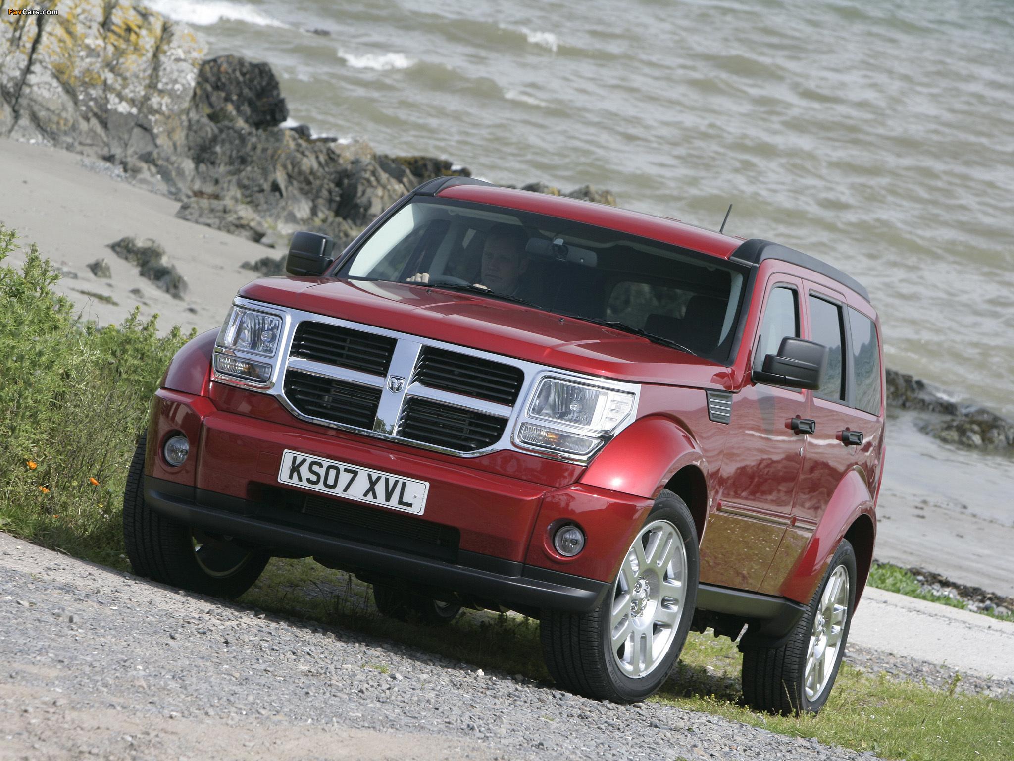 Photos of Dodge Nitro UK-spec 2007–09 (2048 x 1536)