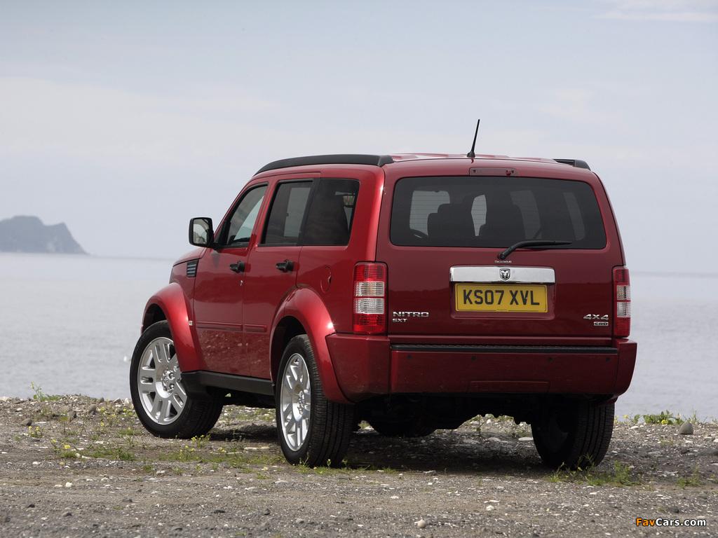 Pictures of Dodge Nitro UK-spec 2007–09 (1024 x 768)