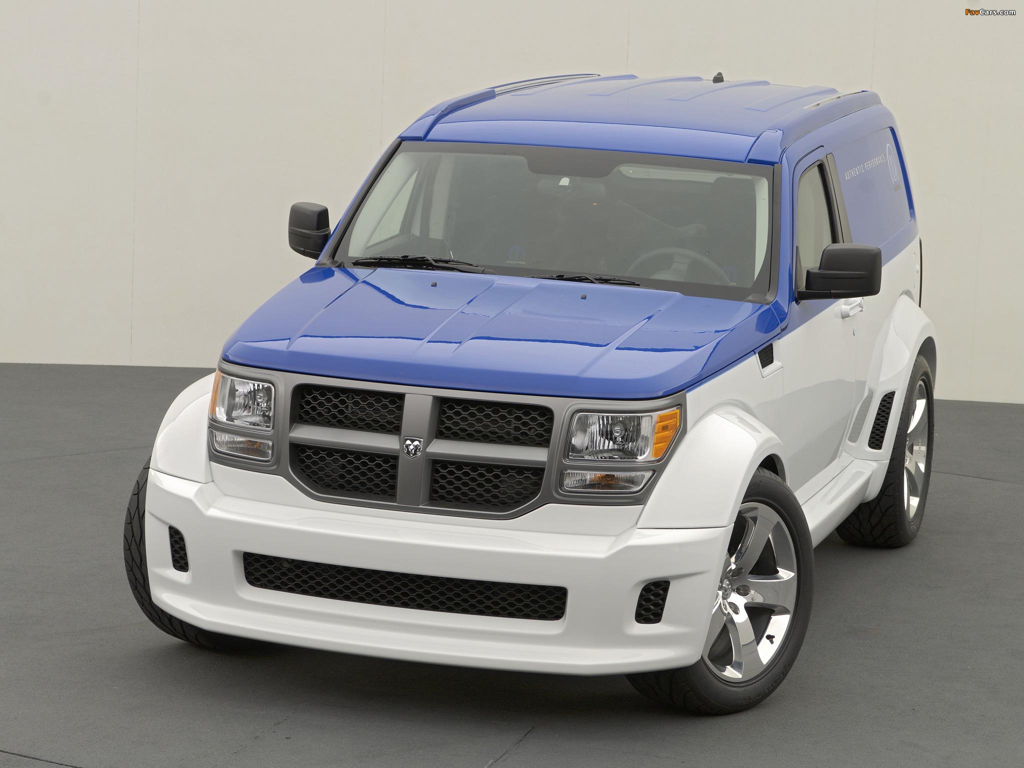 Dodge Nitro Panel Wagon Concept 2006 wallpapers (2048 x 1536)