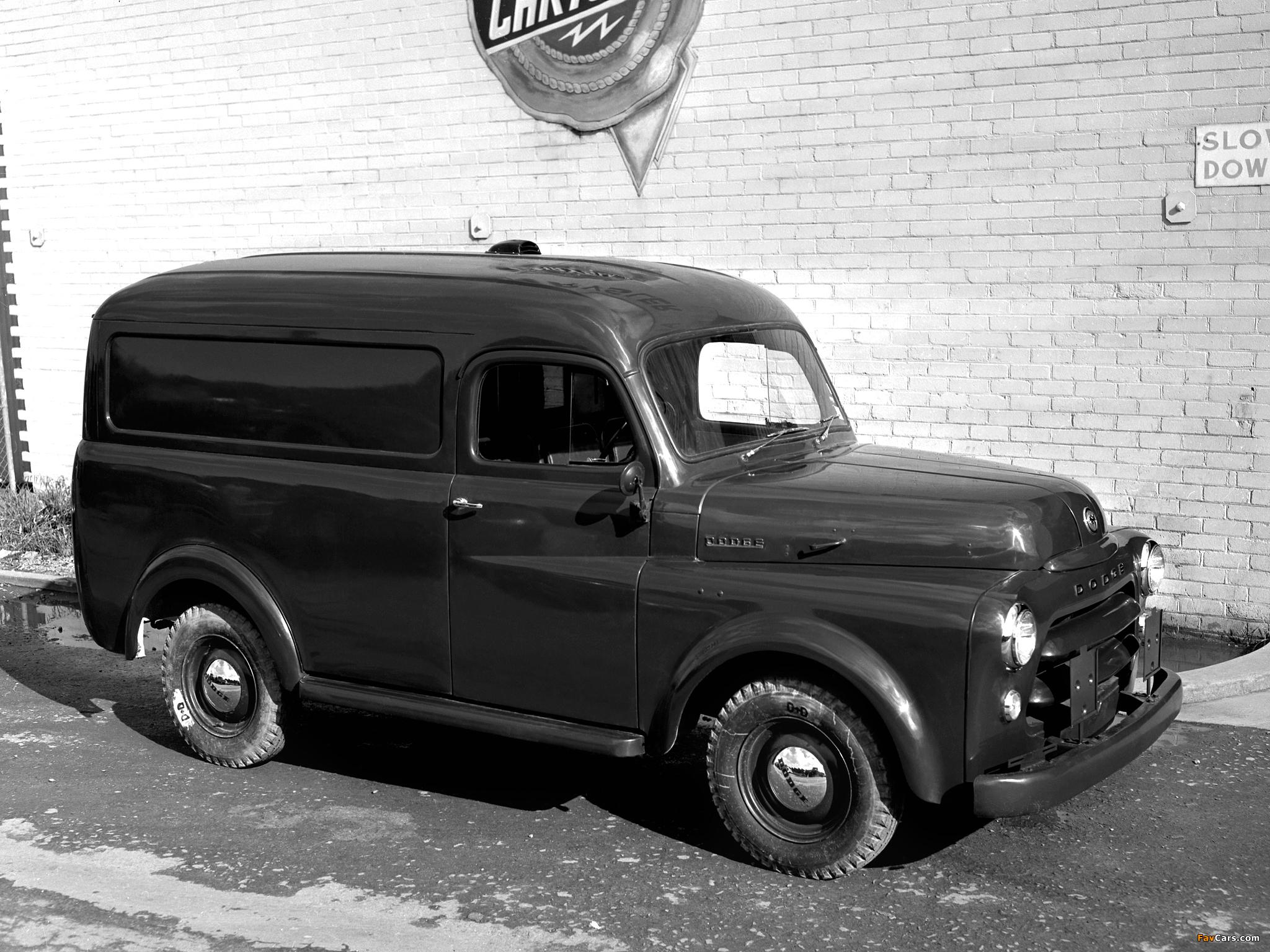 Dodge Panel Van AU-spec (Model 1-08) 1955–58 images (2048 x 1536)