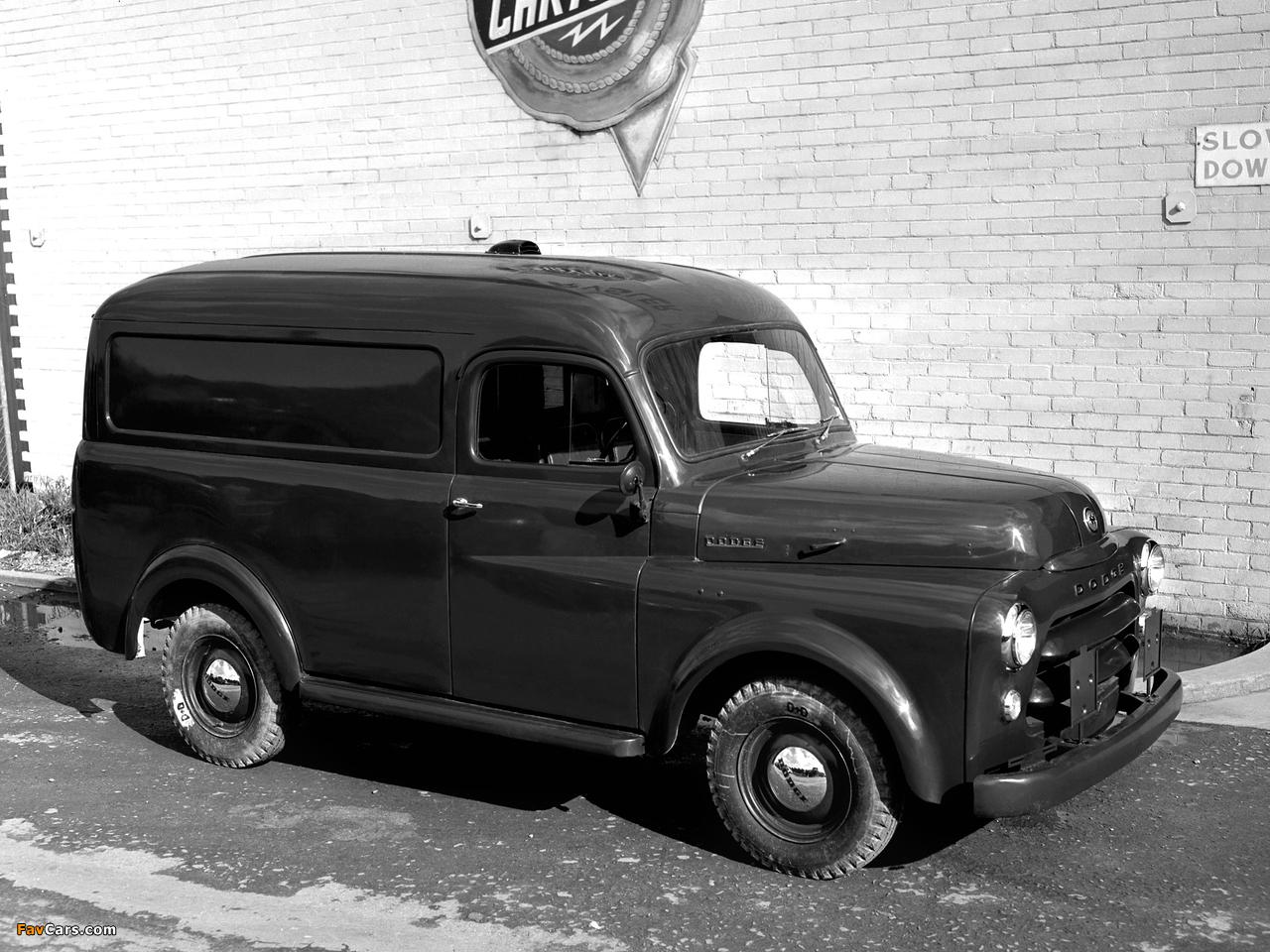 Dodge Panel Van AU-spec (Model 1-08) 1955–58 images (1280 x 960)