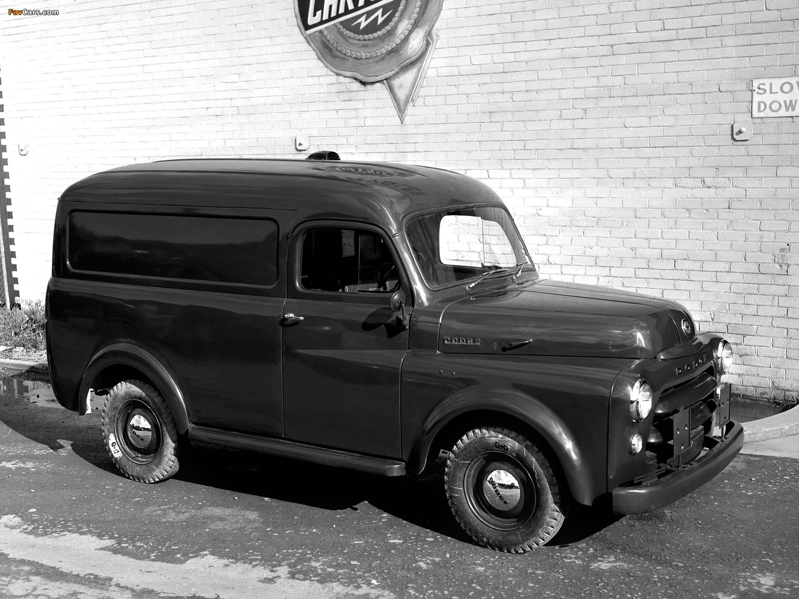 Dodge Panel Van AU-spec (Model 1-08) 1955–58 images (1600 x 1200)