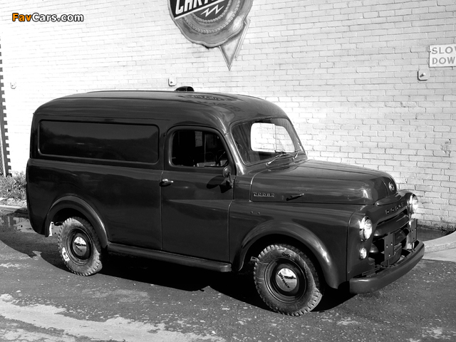 Dodge Panel Van AU-spec (Model 1-08) 1955–58 images (640 x 480)