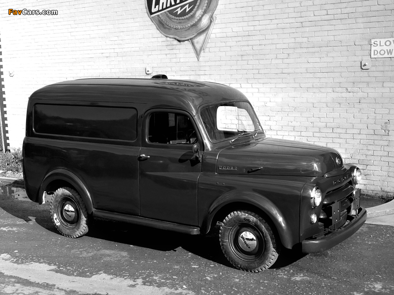 Dodge Panel Van AU-spec (Model 1-08) 1955–58 images (800 x 600)