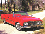 Dodge Polara D500 Convertible 1961 photos
