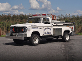 Dodge W300 Power Wagon Brush Truck 1966 photos