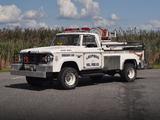 Dodge W300 Power Wagon Brush Truck 1966 photos