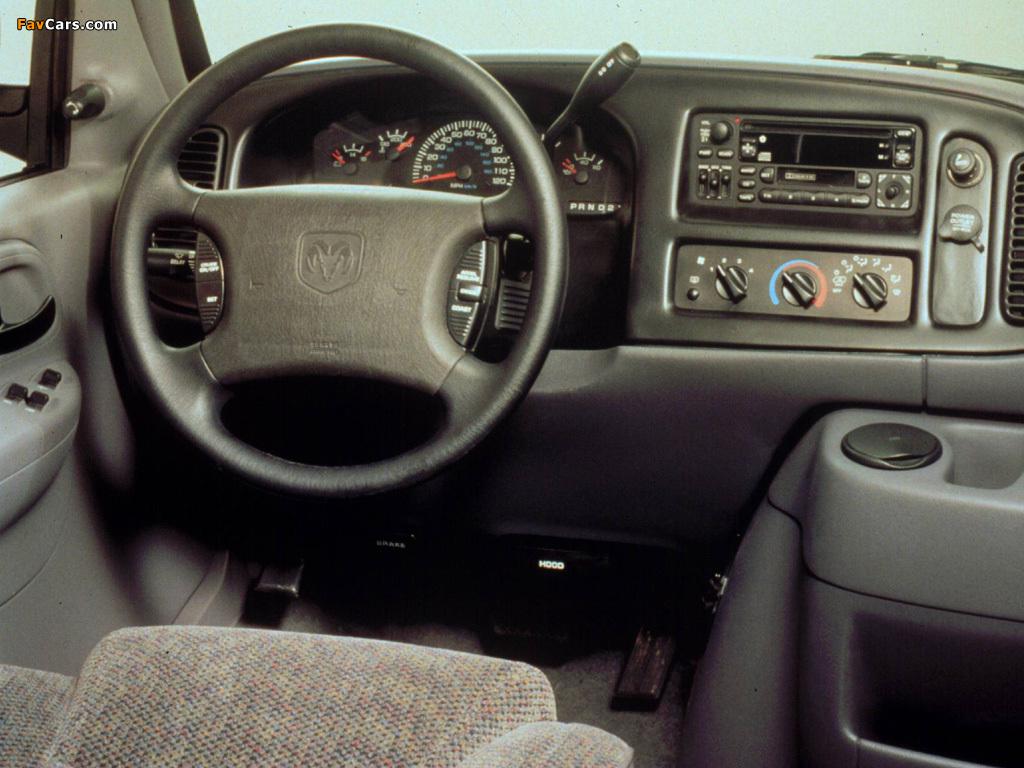Dodge Ram Van 1994–2003 images (1024 x 768)