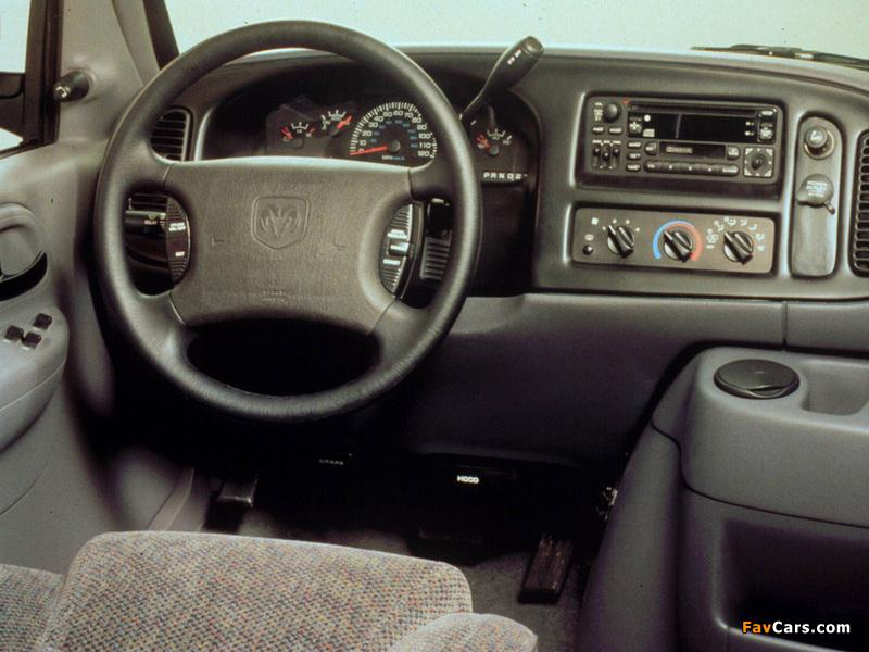 Dodge Ram Van 1994–2003 images (800 x 600)