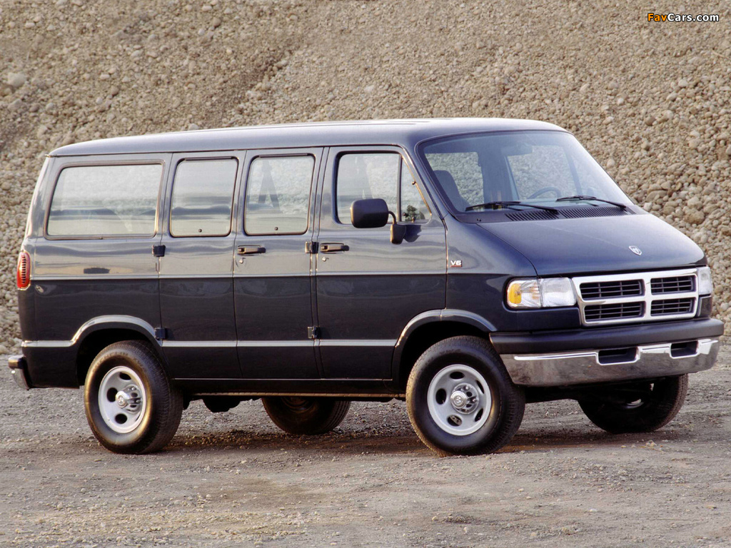 Dodge Ram Van 1994–2003 wallpapers (1024 x 768)