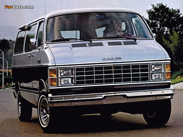 Images of Dodge Ram Wagon 1979–85 (640 x 480)