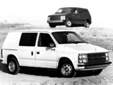 Images of Dodge Mini Ram Van 1984–88