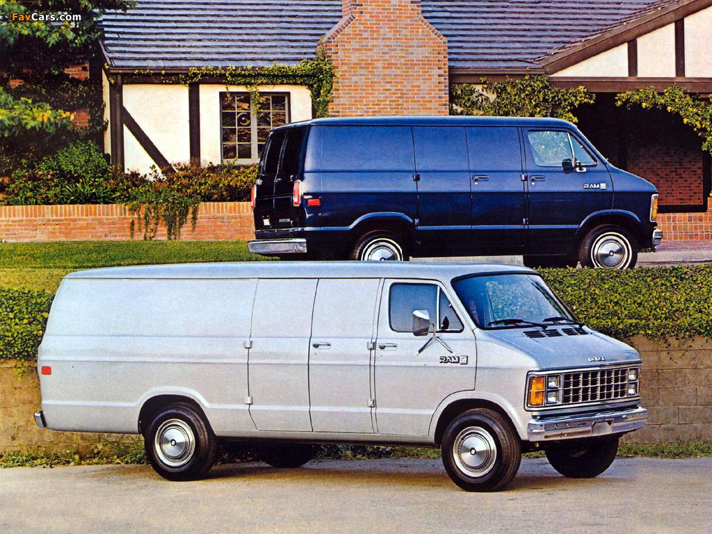 Pictures of Dodge Ram Van (1024 x 768)