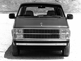 Pictures of Dodge Mini Ram Van 1984–88