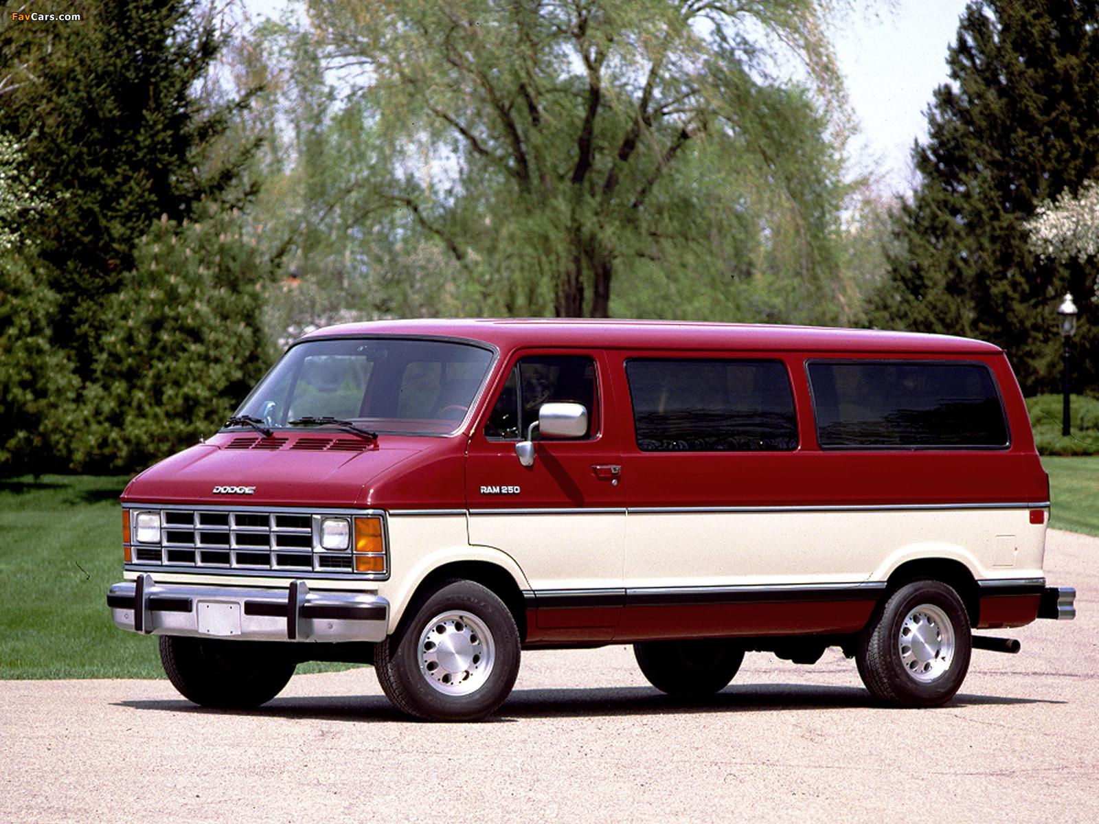 Dodge Ram Wagon 1986–93 wallpapers (1600 x 1200)