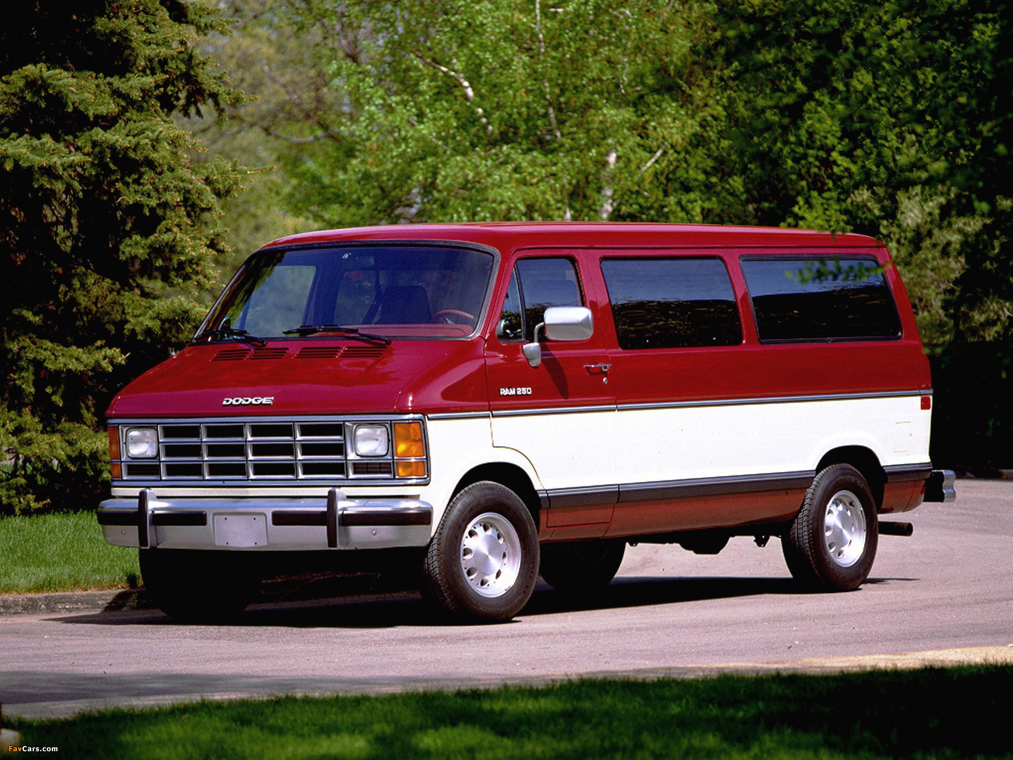 Dodge Ram Wagon 1986–93 wallpapers (2048 x 1536)