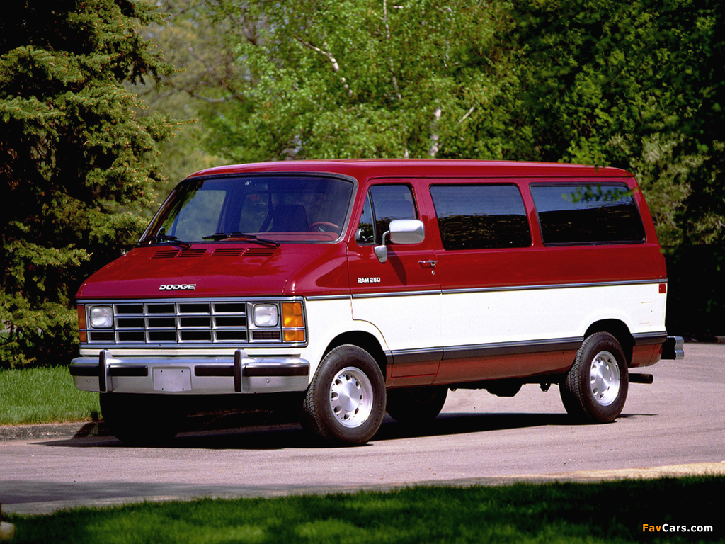 Dodge Ram Wagon 1986–93 wallpapers (1024 x 768)