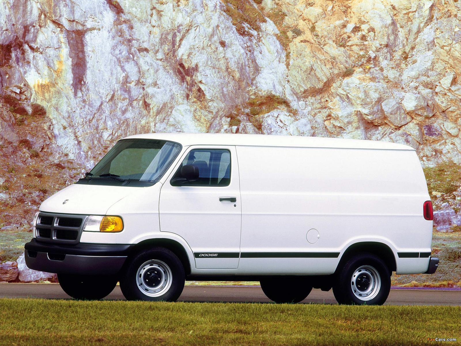 Dodge Ram Van 1994–2003 wallpapers (1600 x 1200)