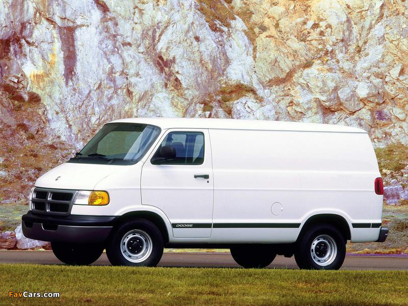Dodge Ram Van 1994–2003 wallpapers (800 x 600)