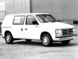 Wallpapers of Dodge Mini Ram Van 1984–88