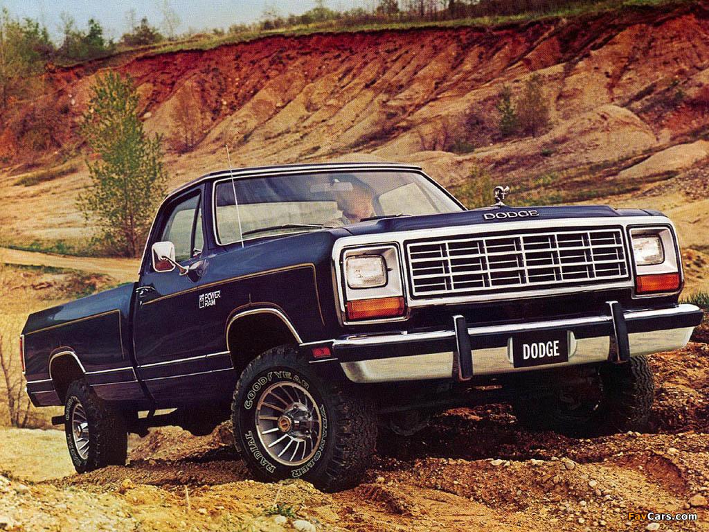 Dodge Power Ram (W150) 1981–86 images (1024x768)