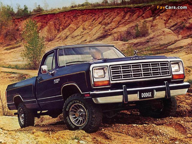Dodge Power Ram (W150) 1981–86 images (640x480)