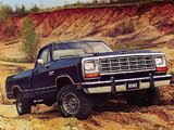 Dodge Power Ram (W150) 1981–86 images