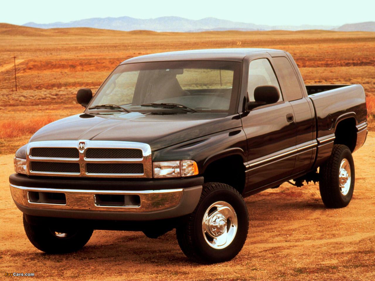 Dodge Ram 1500 Club Cab 1994–2001 images (1280 x 960)