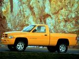 Dodge Ram 1500 Sport Regular Cab 1994–2001 images