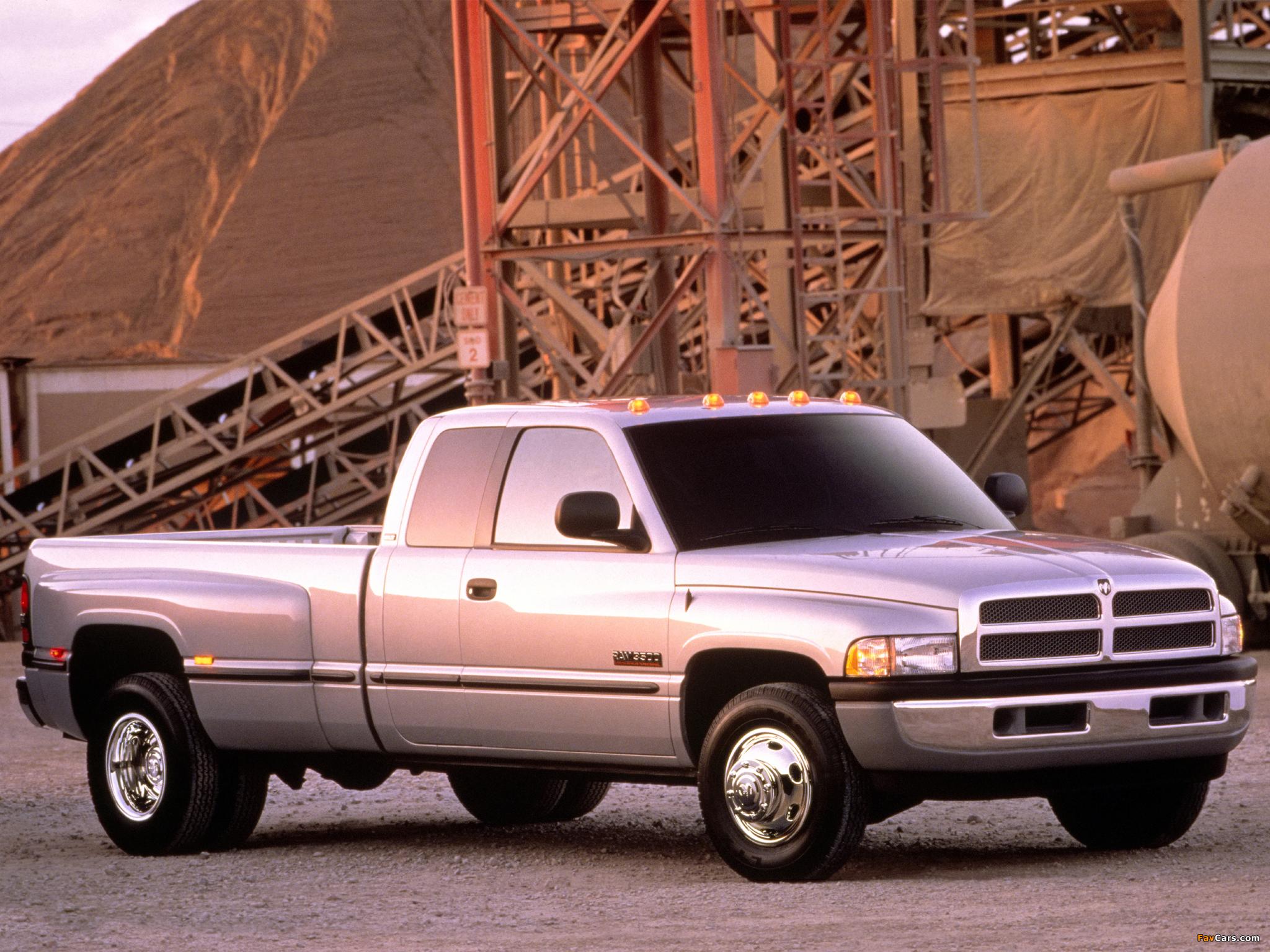 Dodge Ram 3500 >> Dodge Ram 3500 Club Cab 1994–2002 photos (2048x1536)