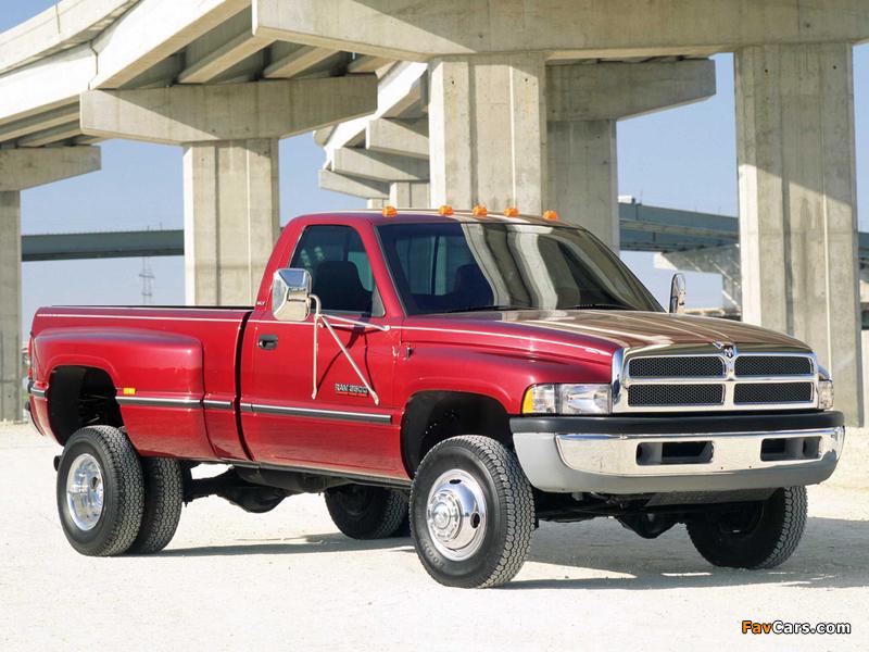 Dodge Ram 3500 Regular Cab 1994–2002 pictures (800 x 600)