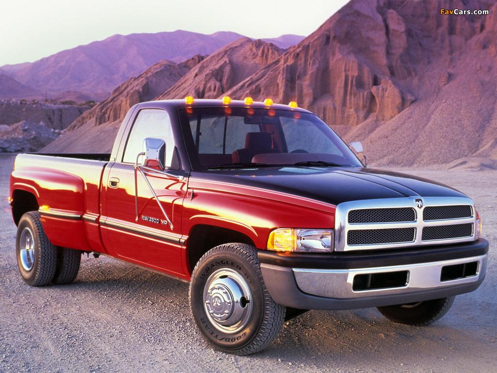 Dodge Ram 3500 Regular Cab 1994–2002 pictures (1024 x 768)