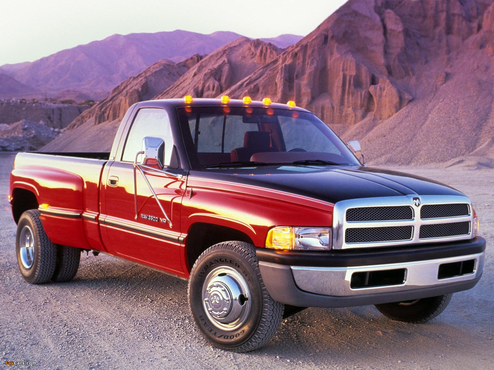 Dodge Ram 3500 Regular Cab 1994–2002 pictures (1600 x 1200)