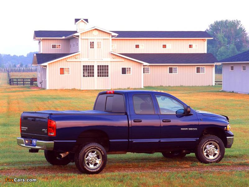 Dodge Ram 3500 Chassis Quad Cab 2003–06 photos (800 x 600)