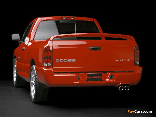 Dodge Ram SRT10 2004–06 photos (640 x 480)