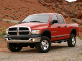 Dodge Ram Power Wagon Quad Cab 2005–08 images