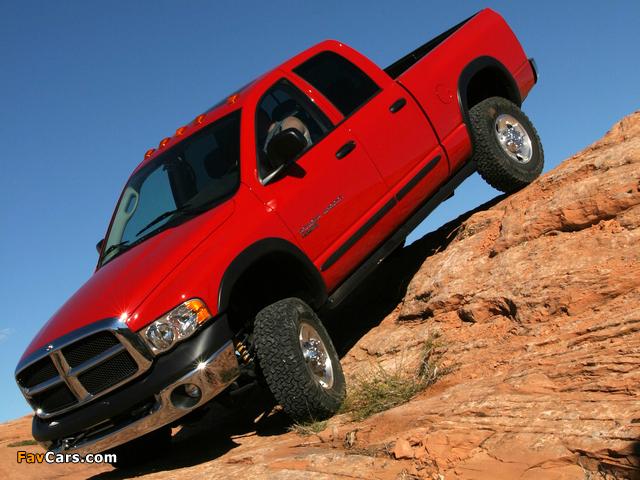 Dodge Ram Power Wagon Quad Cab 2005–08 images (640 x 480)