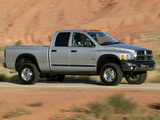 Dodge Ram Power Wagon Quad Cab 2005–08 wallpapers